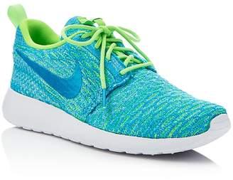 Nike Women's Roshe One Flyknit Sneakers $120 thestylecure.com