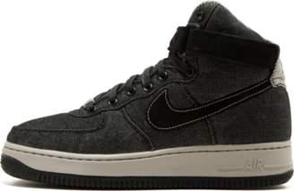 Nike Womens Air Force 1 Hi SE Black/Dark Grey