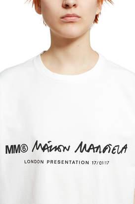 MM6 MAISON MARGIELA Basic Logo Tee
