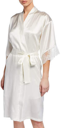 Lise Charmel Virtouse Short Satin Robe