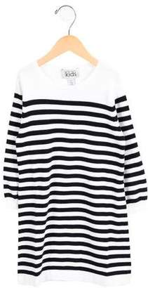 Autumn Cashmere Girls' Striped Sweater Dress w/ Tags