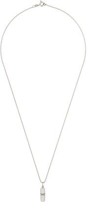 True Rocks small pill pendant necklace
