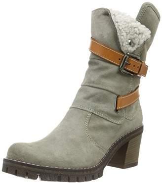 Manas Design Women's CERVIA Long Boots Grey Size: 7