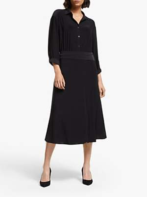 Ilse Jacobsen Hornbæk Emma Shirt Dress, Black