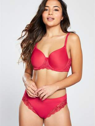 Fantasie Underwired Rebecca Lace Spacer Full Cup Bra - Red
