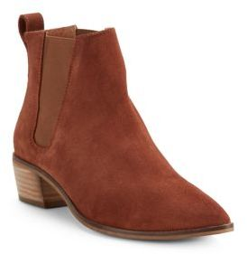 Leather Ankle Boots $170 thestylecure.com
