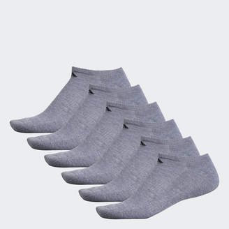 adidas No-Show Athletic Socks 6 Pairs