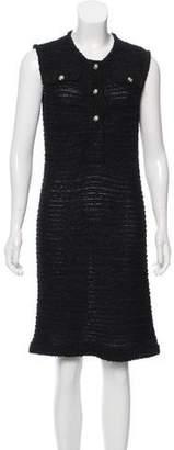 Chanel Boucle Sleeveless Dress