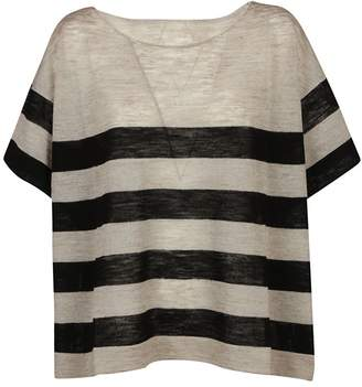 Roberto Collina Boxy Striped T-shirt
