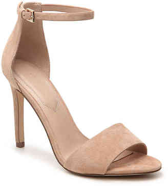 Women's Melawet Sandal -Nude Suede $90 thestylecure.com