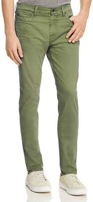 7 For All Mankind Adrien Taper Slim Fit Jeans in Military