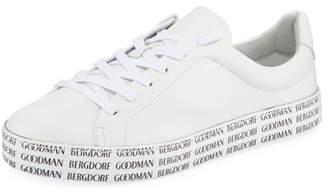 Schutz BG Bottom Leather Sneakers