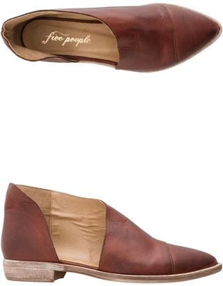 Free People Royale Flat Shoe $198 thestylecure.com