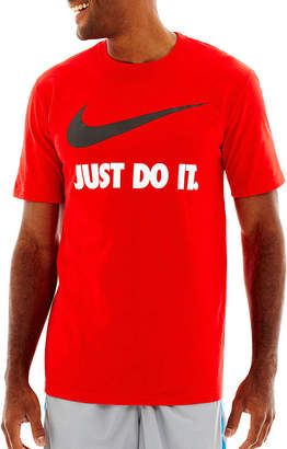 Nike Just Do It Short Sleeve Swoosh Tee