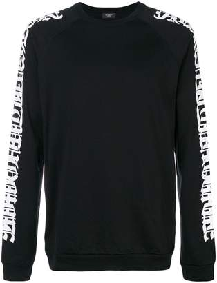 Not Guilty Homme printed sleeves sweatshirt