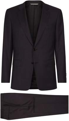 Canali Check Suit