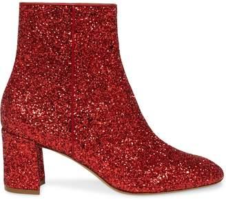 Mansur Gavriel Glitter 65MM Ankle Boot - Flamma