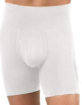 Spanx for Men Men's Slim-Waist? Boxer Brief White Boxer Briefs MD