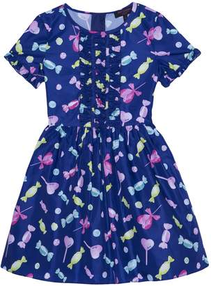 Juicy Couture Taffeta All Sorts of Candy Dress for Girls