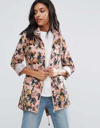 Brave Soul Floral Trench $29 thestylecure.com