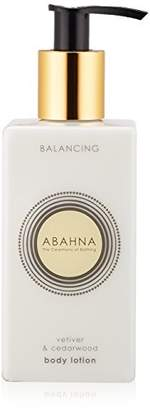 Abahna Vetiver and Cedarwood Body Lotion 250 ml