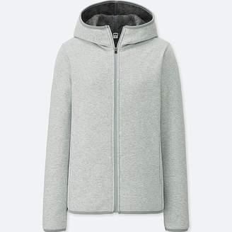 Uniqlo Women's Windproof Fleece Long-sleeve Full-zip Hoodie