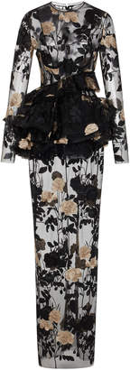 Duma Embroidered Tulle Dress