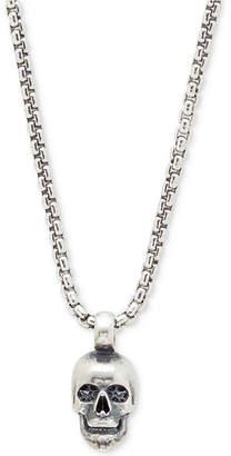 Degs & Sal Men's Skull Pendant Necklace in Sterling Silver