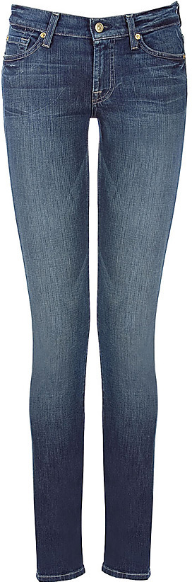 SEVEN FOR ALL MANKIND Jeans Roxanne Pacific Wash Classic Skinny