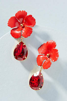 Jennifer Behr Lucia Flower Drop Earrings
