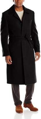 Stacy Adams Men's Big-Tall Eros Four Button Full Length Top Coat