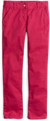 Brooks Brothers Girls Stretch Twill Skinny Pants