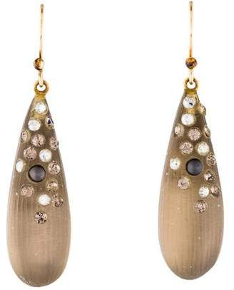 Alexis Bittar Lucite, Crystal & Faux Pearl Earrings