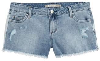 Tractr Brittany July 4 Denim Shorts (Big Girls)