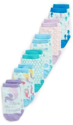 Tucker + Tate 6-Pack Mermaid Low Cut Socks