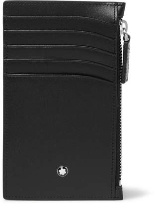 Montblanc Meisterstuck Leather Zipped Cardholder - Black