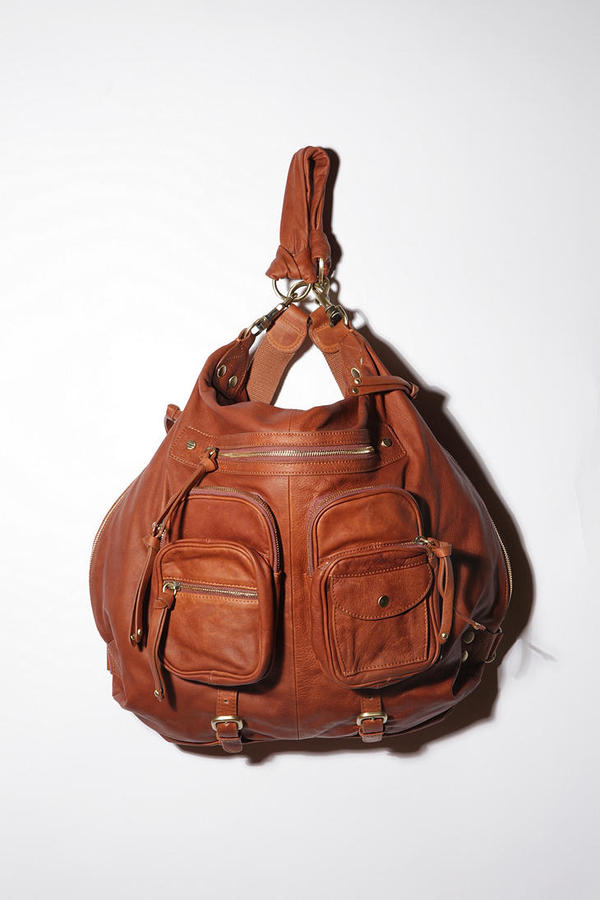 Sabina Leather Pocket Backpack