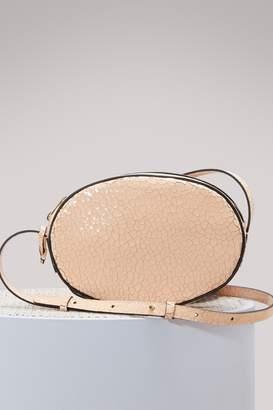Repetto Quadrille oval leather bag