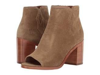 Frye Danica Peep Bootie Women's Boots