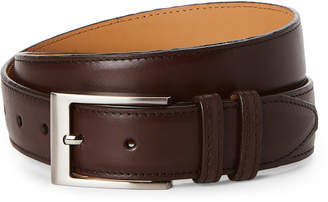 Robert Talbott Dark Brown Leather Dress Belt