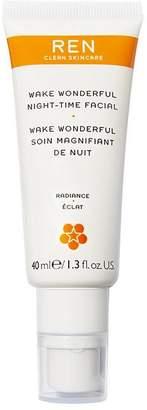 REN Clean Skincare Wake Wonderful Night Time Facial 40Ml