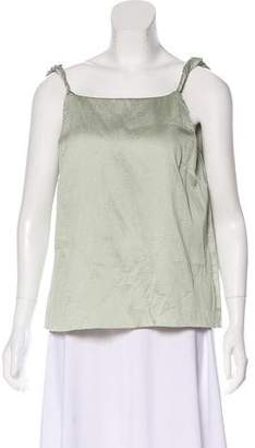Rosie Assoulin Silk Sleeveless Top