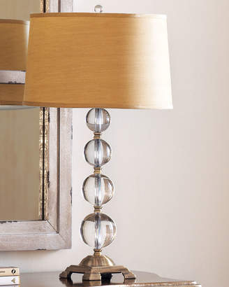 Horchow Crystal Ball Table Lamp