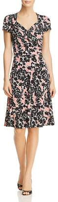 Leota Sweetheart Floral Print Dress