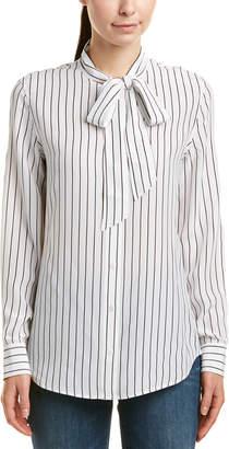 AG Jeans Avery Silk Shirt