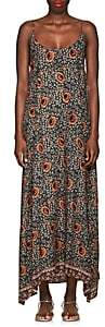 Natalie Martin Women's Heather Floral Maxi Dress - Purple