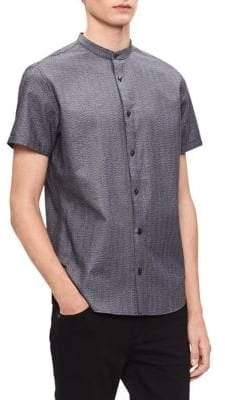 Calvin Klein Short-Sleeve Cotton Sport Shirt