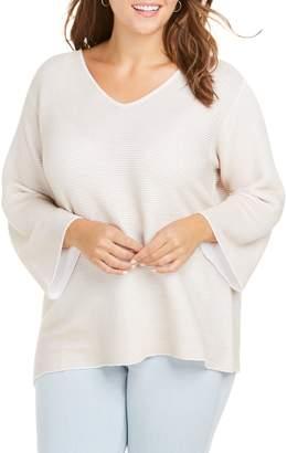 Foxcroft Dixie Ottoman Sweater