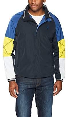 Nautica Men's Long Sleeve Zip Front Bomber Jacket