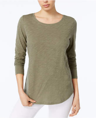 Maison Jules Cotton Top, Created for Macy's